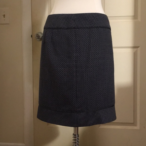 Ann Taylor Dresses & Skirts - Blue and black pencil skirt!